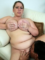 horny chubby chick fucked by a dude